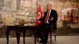 Președintele turc Recep Tayyip Erdogan, în timpul unui interviu acordat agenției Reuters