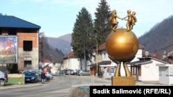 Centar Srebrenice (februar 2021.)