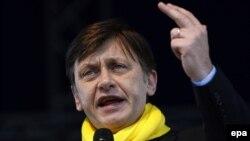 Действующий президент Румынии Крин Антонеску
