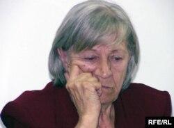 Құқыққорғаушы, Алматылық Хельсинки комитетінің жетекшісі Нинель Фокина.