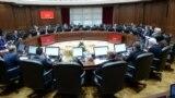 Седница на Владата на Република Македонија. Влада, министри, премиер