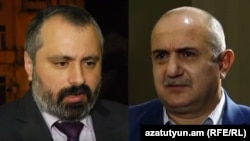 Armenia - David Babayan (L) and Samvel Babayan