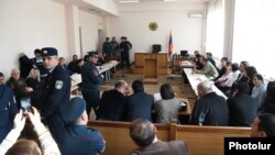 Armenia - A court in Yerevan is about to start the trial of 20 people accused of plotting a coup détat, 2Dec2016.