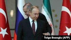 Türkiye prezidenti Recep Tayyip Erdoğan ve Rusiye prezidenti Vladimir Putin