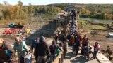 Crossing The Front Line In Eastern Ukraine