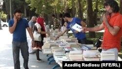 Bakıda «Qanun» nəşriyyatının təşkilatçılığı ilə kitab yarmarkası. 2014