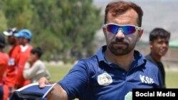 صادق بازیکن سابق تیم ملی کرکت افغانستان