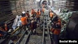 Москвада метро курган мигранттар