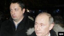 Aleksandar Špirjugin i ruski predsednik Vladimir Putin, 2010.