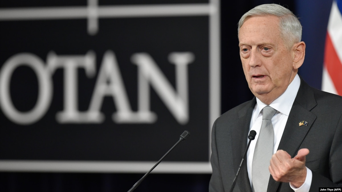 Radio Free Europe / Liberty: Mattis Says NATO Ministers Discussed