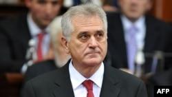 Presidenti i Serbisë, Boris Tadiq.