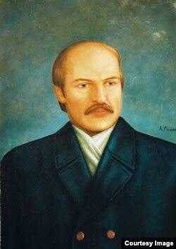 Партрэт Лукашэнкі, аўтар Кірыла Мельнік