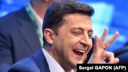 Ուկրաինայի ընտրված նախագահ Վլադիմիր Զելենսկի, Կիև, 21-ը ապրիլի, 2019թ.