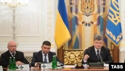 Заседание СНБО, архивное фото