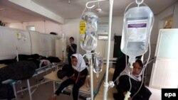 Əfqanıstanda hospital.