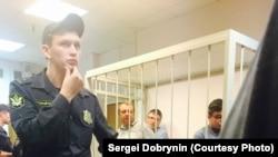 Калякин, Лукьянов и Зайцев. Последние двое были заключены под стражу в зале суда
