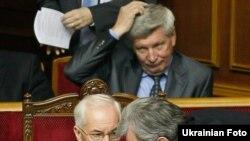 Під час розгляду проекту бюджету у залі був присутній Прем'єр-міністр Микола Азаров