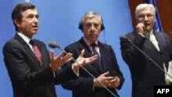 """Министры иностранных дел европейской """"тройки"""" обсуждают ядерное досье Ирана"""