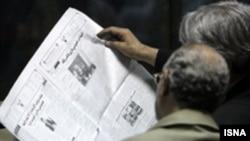 اغلب روزنامه های روز سه شنبه ايران خبر پخش اعترافات هاله اسفندياری و کيان تاجبخش از تلويزيون دولتی در روزهای آتی را مورد توجه قرار داده اند.