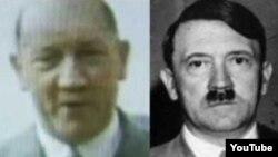Hitlerin qocaldığı halda necə görünəcəyini sərgiləyən foto.