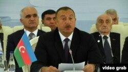 Илҳом Алиев, раиси ҷумҳури Озарбойҷон.