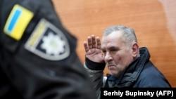 Юрій Россошанський під час засідання суду, 9 січня 2017 року