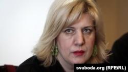 Претставничката на ОБСЕ, задолжена за слободата на медиумите Дуња Мијатовиќ