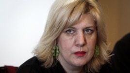 OSCE Representative on Media Freedom Dunja Mijatovic