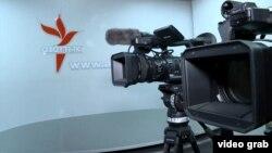 Студийное помещение Кыргызской редакции Азаттыка.