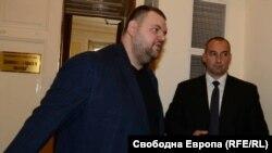 Делян Пеевски в Народното събрание тази сутрин
