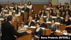 Međunarodni Dan žena u Skupštini Crne Gore, 8. mart 2013.