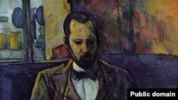 Поль Сезанн. «Портрет Амбруаза Воллара», 1899 год