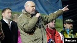 Украина муваққаат президенти Александр Турчинов.