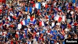 Збірна Франції забила Аргентині чотири м'ячі