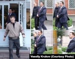 Арест Василия Крюкова