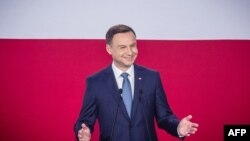 Переможець президентських виборів у Польщі Анджей Дуда