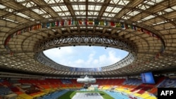 The venerable Luzhniki Stadium in Moscow, which was built in 1956 and was the main venue for the 1980 Summer Olympics, is being entirely refurbished at a cost of $800 million. Only the stadium's outer frame will be kept intact.