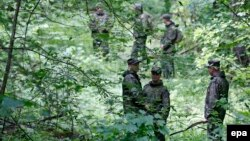 Pamje e pjesëtarëve të forcave ruse