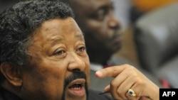 Председатель комиссии Африканского союза Жан Пинг. Брюссель, 17 июня 2011 года.