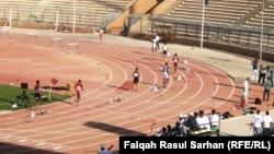 جانب من منافسات البطولة العربية لألعاب القوى في الأردن