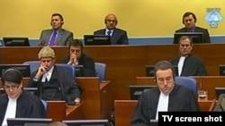 Ante Gotovina, Mladen Markač i Ivan Čermak u sudnici Tribunala, 30 avgust 2010