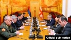 Gürcüstan və Ermənistan nazirlərinin Tbilisi görüşü