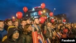 Митинг Навального в Архангельске