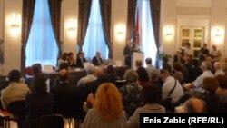 Predstavljanje Knjige nestalih u Hrvatskoj, 18. srpanj 2012.