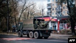 Донецьк, «день виборів», 2 листопада 2014 року
