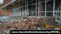 Ուկրաինա - Դոնեցկի հիվանդանոցը հրետակոծությունից հետո, 19-ը հունվարի, 2015թ․