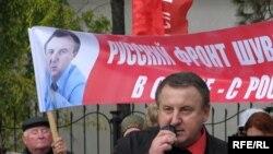Liderul Congresului Comunităților Ruse, Serghei Șuvainikov