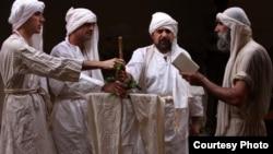 صابئة يمارسون شعائرهم - من الارشيف