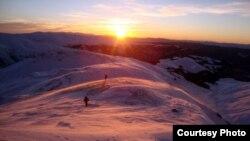 Планината Кораб на границата со Албанија.