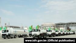 Türkmenistanyň döwlet habarlar agentliginiň (TDH) websaýtyndan alnan surat